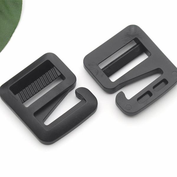 Wholesale Free shipping 25pcs 1inch black POM plastic slider ... fef2dfb5e1a1d