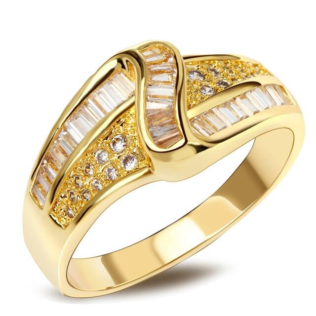 נשים טבעת נחושת הגדרת שיניים zirconia מעוקב טבעות נישואים תכשיטי טבעות טבור משלוח חינם למסיבה