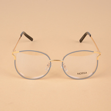 Hot Sale Women's Personality Cat Eye Glasses Frame Female Cool Eyeglasses Men's Fashion Metal Optical Frames Unisex Spectacles