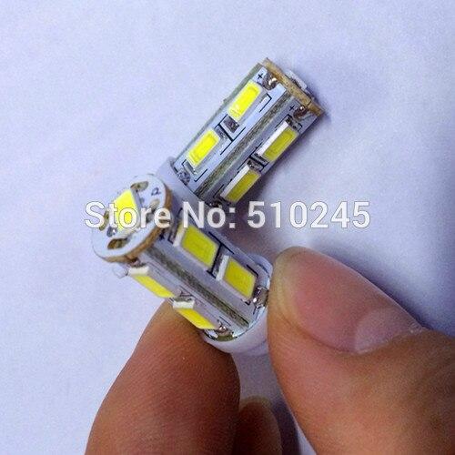 500x Free shipping Car Auto LED 194 W5W 9smd T10 9 led smd 5630 Wedge LED Light Bulb Lamp White