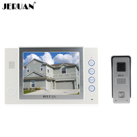 Lujo Altavoz de 8 pulgadas teléfono video de la puerta sistema de intercomunicación de vídeo portero automático intercom Monitor de vídeo de Grabación función de toma de fotos