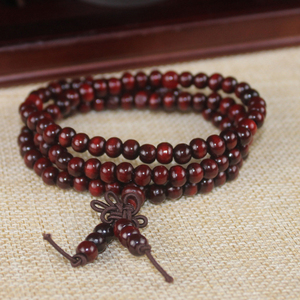 Image 2 - Multilayer Wenge Prayer Beads 108 Tibetan Buddhist Charm Meditation Necklace Yoga lucky Sandalwood Wooden Bracelet For Women Men