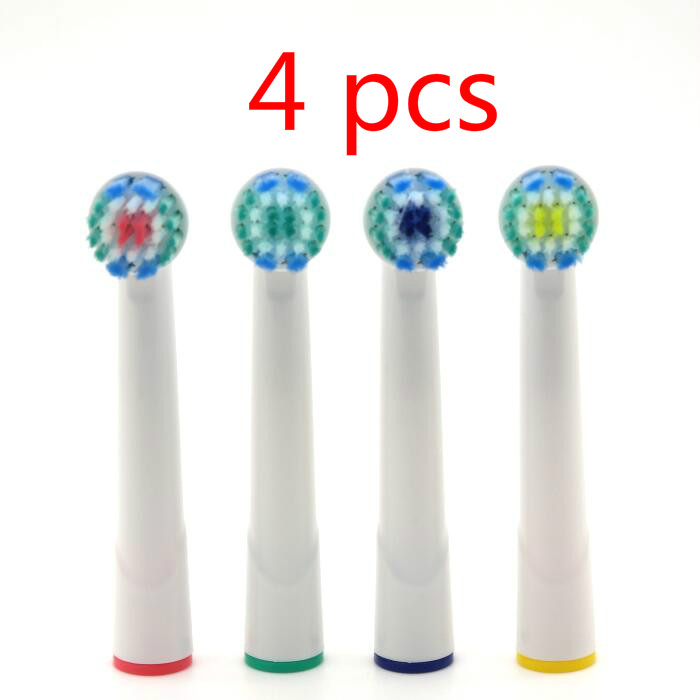 4pcs Generic Replacement Electric Toothbrush Heads for Interspace Power Tip IP17-4 Oral Hygiene B Clean Teeth Care image