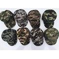 O envio gratuito de 500 PÇS/LOTE Pala de Sol Unisex Camuflagem Do Exército Boné De Beisebol Mulher Homem Snapback Chapéu Tampão Do Esporte de Combate Soldado