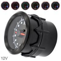 2 Inch 52MM Dual Display 12V 0~10000RPM Universal Car Tachometer 7 Color Backlight Auto Tachometer