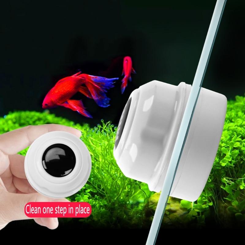 Practical Floating Magnetic Brush Aquarium Fish Tank Glass