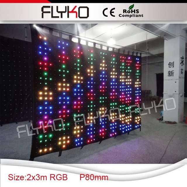 Flyko p8 23m magic color led video curtain on wedding decoration in flyko p8 23m magic color led video curtain on wedding decoration junglespirit Choice Image