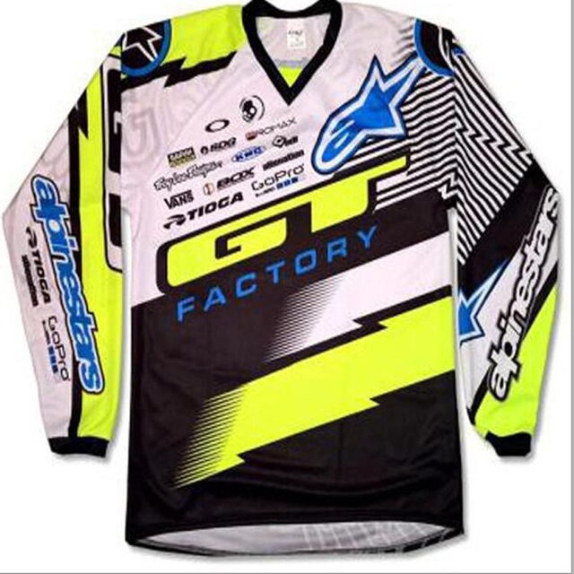 Motocross jerseys MotoGP Jersey Quick Dry Downhill Bicycle Shirt for Men MTB T-Shirt Youth Jersey moto BMX Kid/Junior cycling