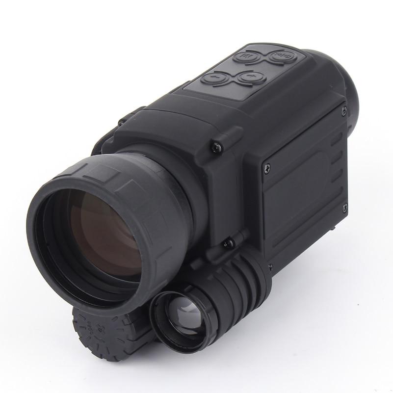 Full dark 200m hunting Digital monocular Infrared night vision camera  night vision device night prismaticos NV005 5x40 bak4 prism infrared night vision monocular camera