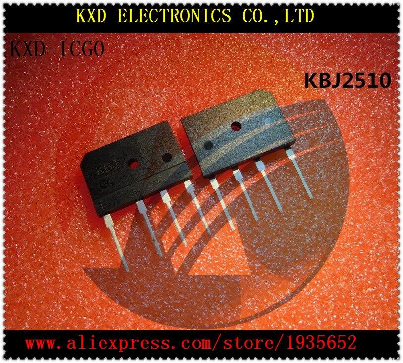KBJ2510 KBJ 2510 25A1000V DIP-4 10pcslot Free shipping