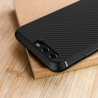 Newest Ultra Thin Slim Carbon Fiber Mobile Phone Case Luxury Shockproof Phone Back Case Cover Suitable
