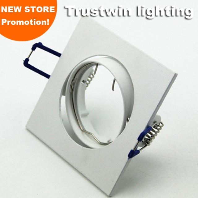 Gu10 Led Ceiling Light Fixture: 4 Pieces Spot Bulb Fixture Halogen White GU5.3 GU10 MR16