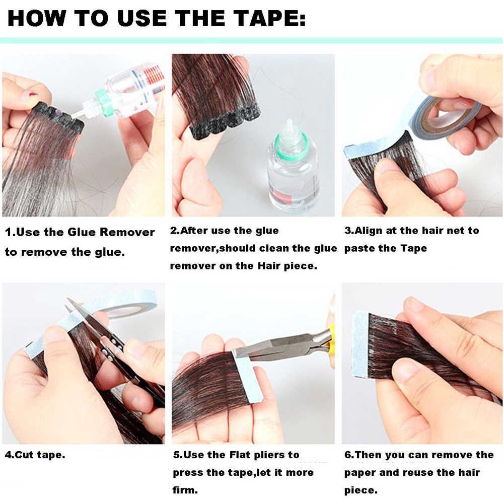 300 см парик двусторонняя клейкая лента клейкая двухсторонняя шиньон фиксация клейкая лента для париков для укладки волос