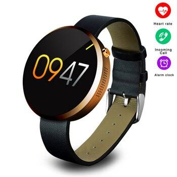 DM360 Pulseira Relógio Inteligente Tela de Toque HD Mostrador do Relógio de Pulso Aptidão Atividade Wearable Dispositivos de Alarme Anti-Perdido para Andriod IOS