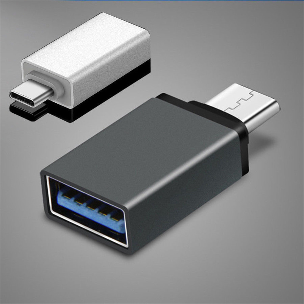 1Pc New Mini Adapter Type C To USB-A 3.0 Female Converter OTG USB C 3.1 For Mac Nexus 5X 6P Male To Female USB-C 3.1 OTG Adapter