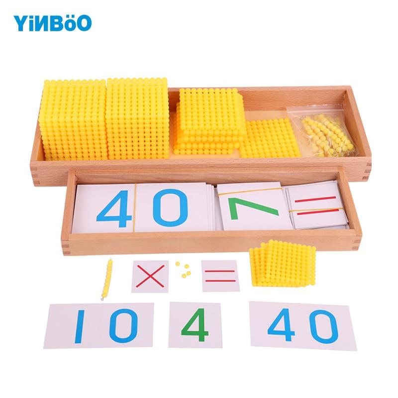 Montessori enfants jouet bébé banque jeu ensemble Maths formation pour la petite enfance apprentissage éducatif préscolaire Brinquedos Juguets