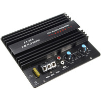 AIYIMA 600W 12V High Power Amplifier Board Mono Car Audio Power Amplifier Powerful Bass Subwoofer Circuit Module Car Amplifiers