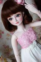 Полный комплект наивысшего качества 60 см ПВХ Куклы 1/3 Девушка BJD jiandanai siml парик одежда все включено ночь Лолита Reborn детские Лучший подарок мо