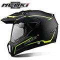 Nenki motocicleta cascos motocross capacete capacete da motocicleta moto capacete kask casque sujeira bicicleta de corrida esportes dupla 310