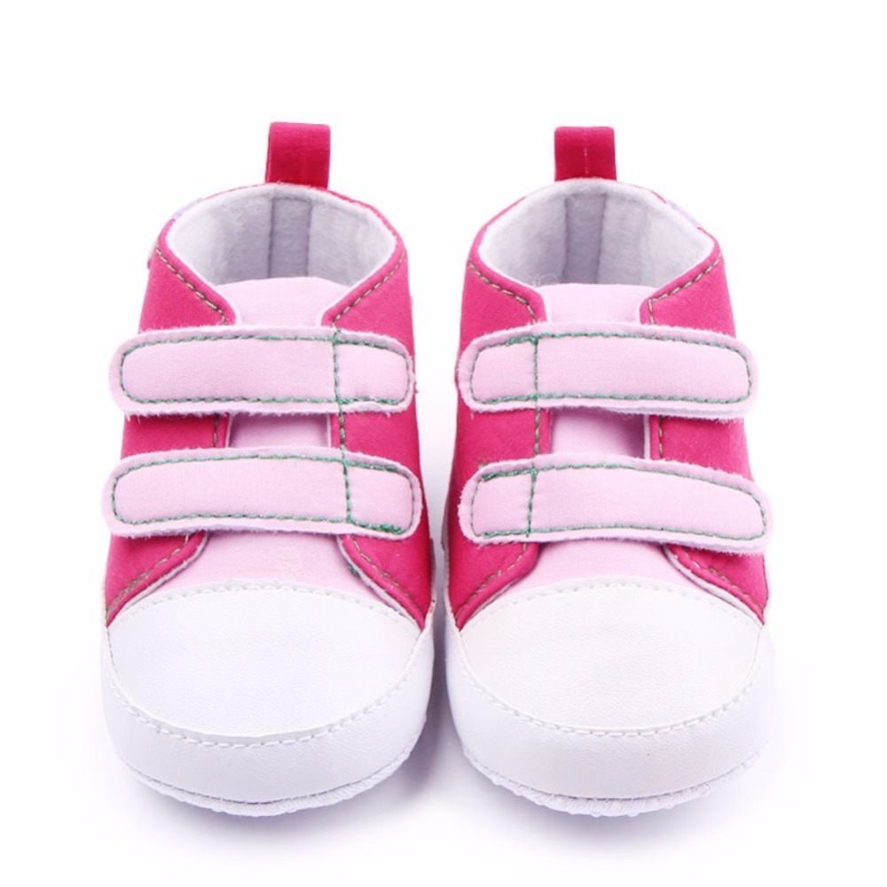 2017 New Baby Boys Girls Infants Toddler Antislip Soft Sole Bebe First Walkers Shoes