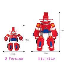 Terbaru Besar Deformasi Armor Sayap Super Penyelamatan Robot Action Figure Super Wing Transformasi Pemadam Kebakaran Mainan