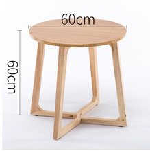 цена на Simple balcony coffee table mini bedroom small table casual sofa side coffee table corner small round table