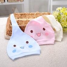 Gorros de algodón con estampado de 100% para bebé, gorros y gorros para bebé de 0 a 3 meses, accesorios para bebés recién nacidos