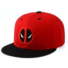 Anime Deadpool bordado Hip Hop Snapback sombrero de algodón Casual plana  gorra de béisbol para hombres y mujeres Gorras casuales. ab6cb118e0b
