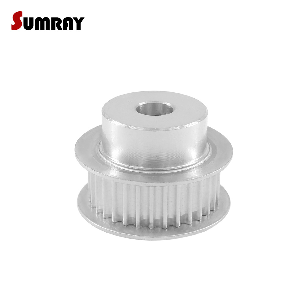 SUMRAY 3M 32T Timing Belt Pulley 6/8/10/12/14/15/16mm Inner Bore Toothed Pulley Wheel 11mm Belt Width Stepper Motor Pulley|Pulleys|Home Improvement - title=