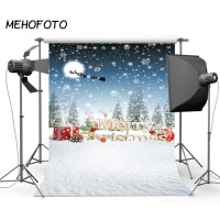 Photography Backdrop Winter Scene Snowflake Photo Shoot Studio Backdrops Christmas Photographic Background Printed