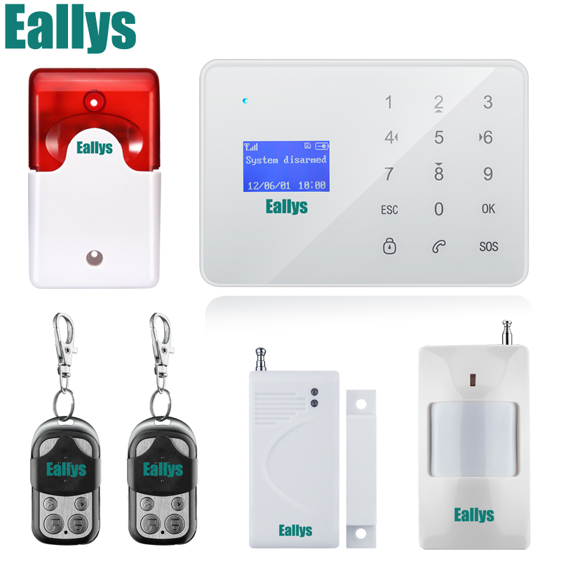 French/Russian/Spanish Voice GSM Autodial Home Security Alarm System+iOS App/ Android App Sensor Alarm Security System home noise cancelling earphone stereo earbuds reflective fiber cloth line headset music headphones for iphone mobile phone mp3 mp4 page 6