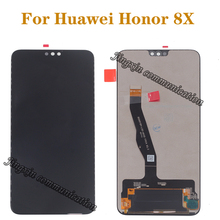 6.5 original display For Huawei Honor 8X JSN-L21 JSN-AL00 JSN-L22 LCD +touch screen digitizer for honor 8 X With frame