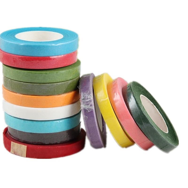 1 шт. 10 Цвета DIY ремесло клей Цветочный бумажная лента для нейлон чулок цветочные аксессуары в виде бабочек