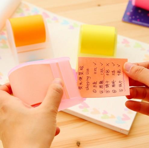 söt brevpapper Memo Pads Bälte tejphållare notis Kreativa - Block och anteckningsböcker - Foto 4