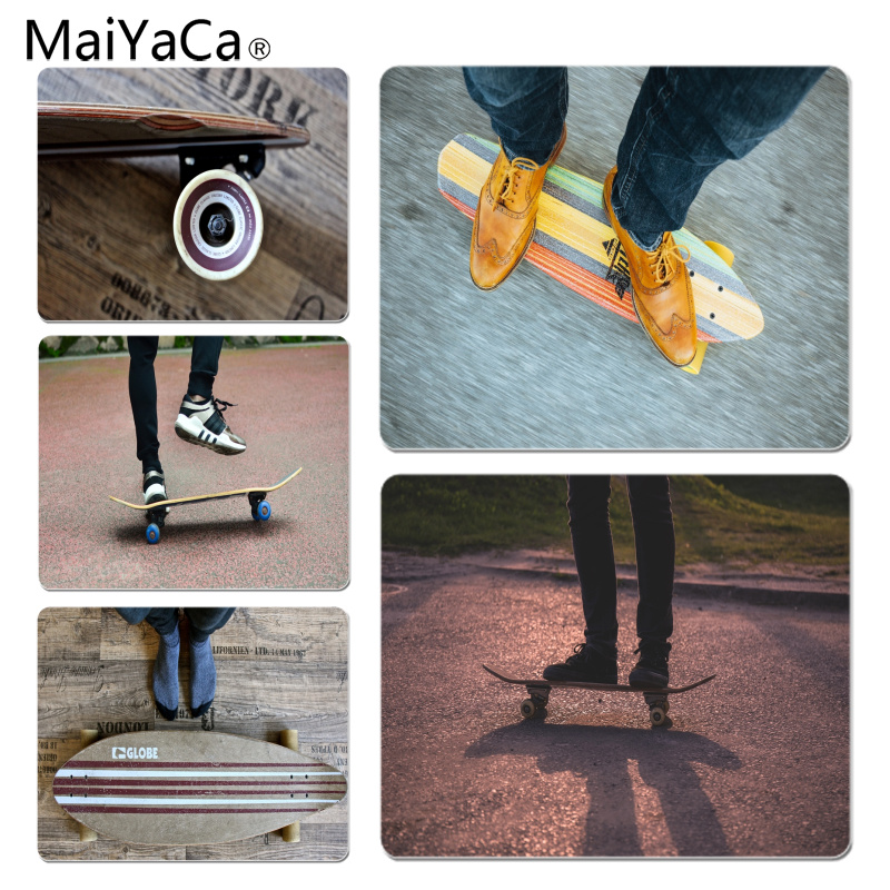 MaiYaCa Port Skateboard Large Mouse pad PC Computer mat Size for 25X29cm Gaming Mousepads