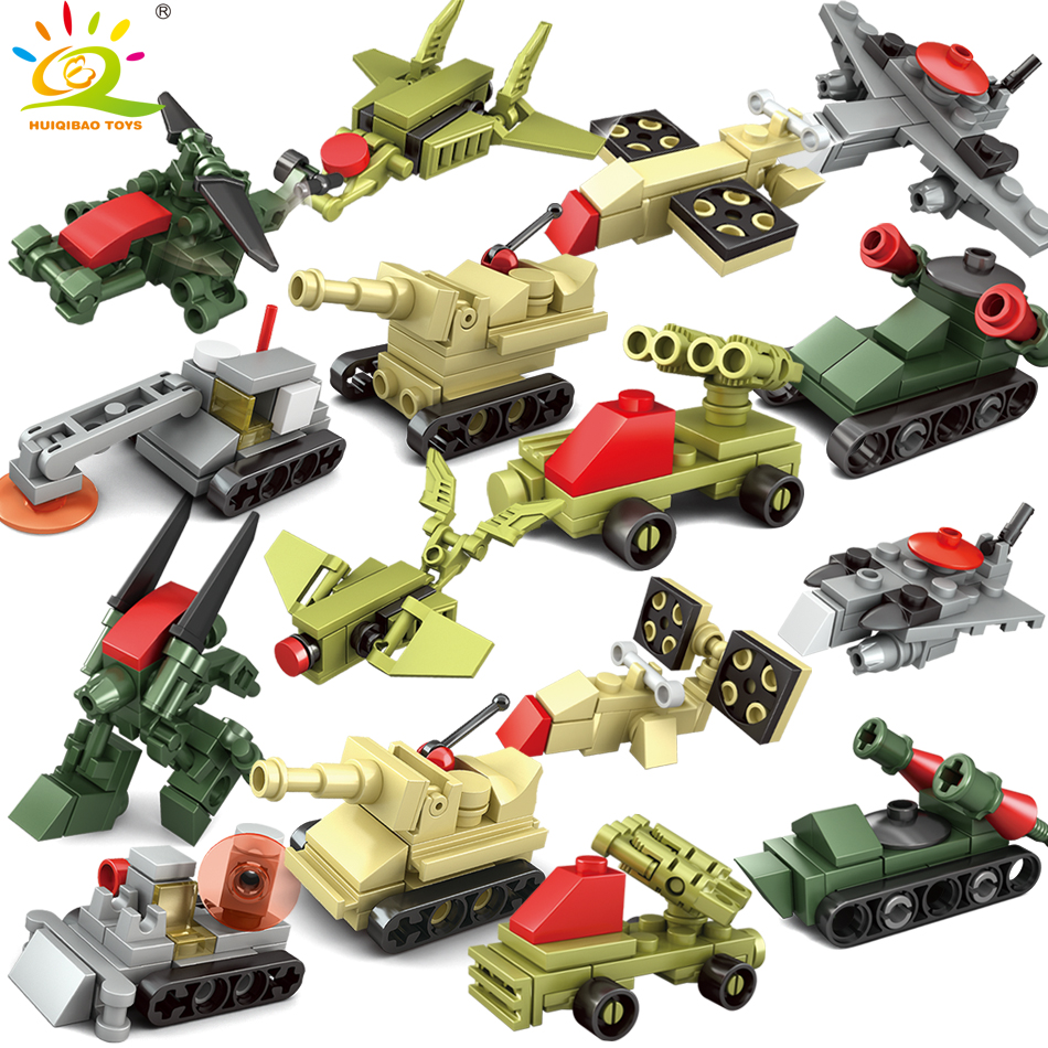 178pcs military Weapon helicapter Trucks building blocks Compatible Legoed Army WW2 DIY bricks Educational toys for children boy