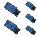 5Pcs/Lot 12V 1 Channel Relay Module Optocouple Board Shield for PIC AVR DSP ARM  1.73 * 0.62 * 0.62''