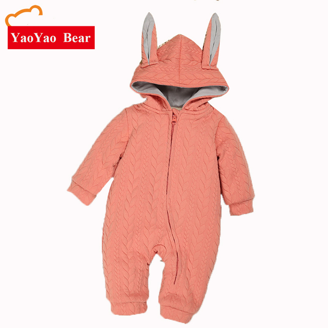 b79d9903eff5 Height 55 85cm Baby Boys Girls Long Sleeve Jumpsuit Outdoor Clothes ...