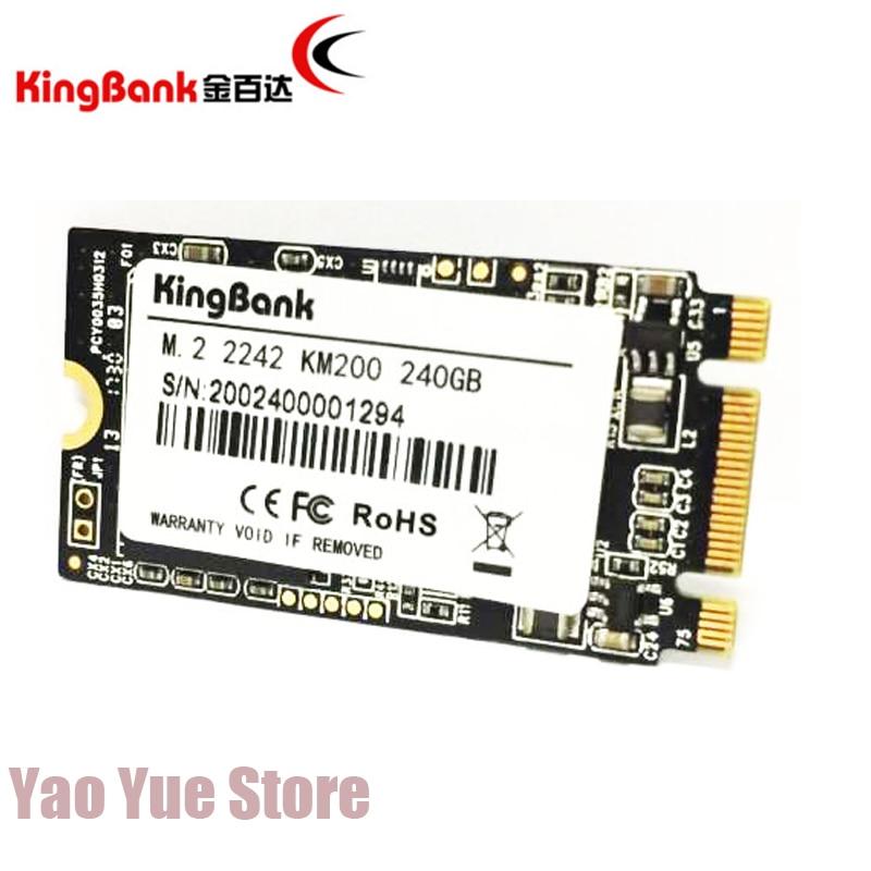 kingbank 22x42mm KM200 240GB M.2 SATA NGFF Drive Internal SSD 240G Internal Solid hard disk SSD cuccio 240g