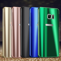 For Samsung Galaxy Note 7 Case Fashion Cool Bright Shiny Aluminum Metal Frame PC Back Cover Note7 Fan Edition Hard Phone Cases