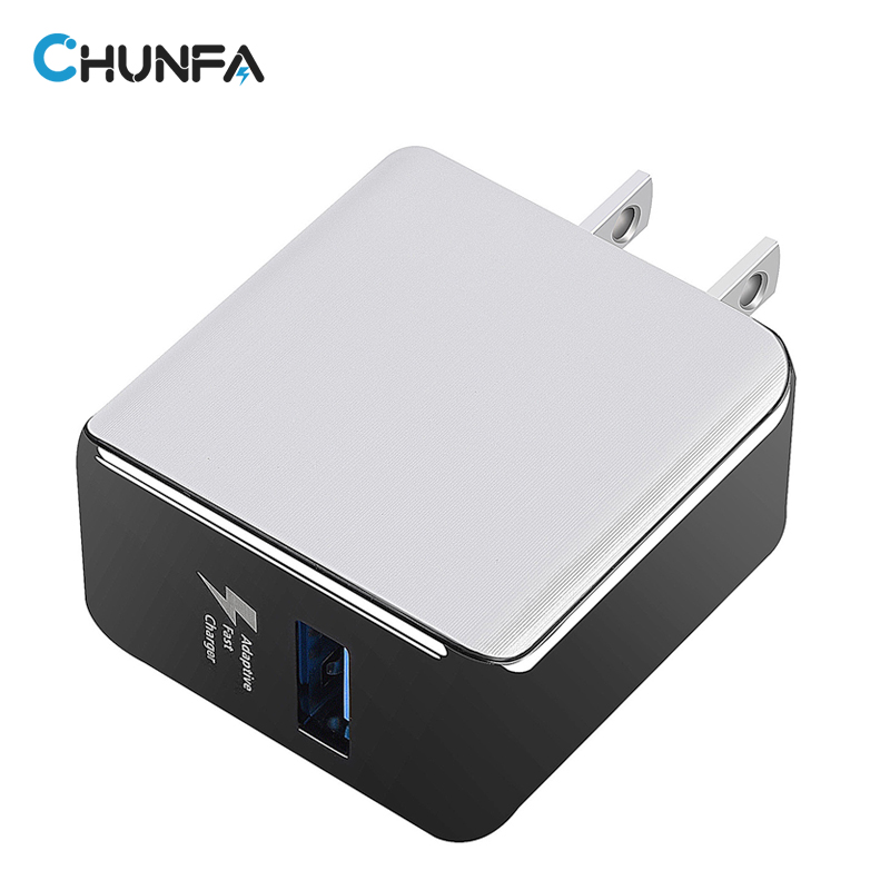 CHUNFA USB Charger for Phone Universal Mobile Wall Fast Charger for Samsung Galaxy S7 Edge USA Plug Quick Charge 2.0 USB Adapter
