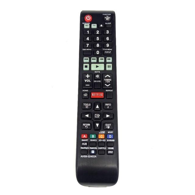 חדש החלפת AH59 02402A עבור Samsung קולנוע ביתי BD טלוויזיה שלט רחוק HTE4500ZA HTE5500WZA Fernbedienung