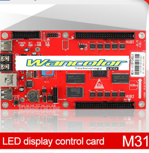 Free Shipping Hot Sales XIXUN M31 Full Color LED Asynchronous Controller For Full Color Led Screen And Supply Free Software