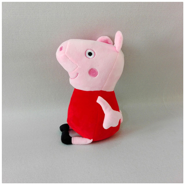 Free Shipping 20cm Pink Pig Family Plush Toy GEORGE Moter Father Stuffed Soft Cartoon Doll Kids Toys Gift for Boy and Girl