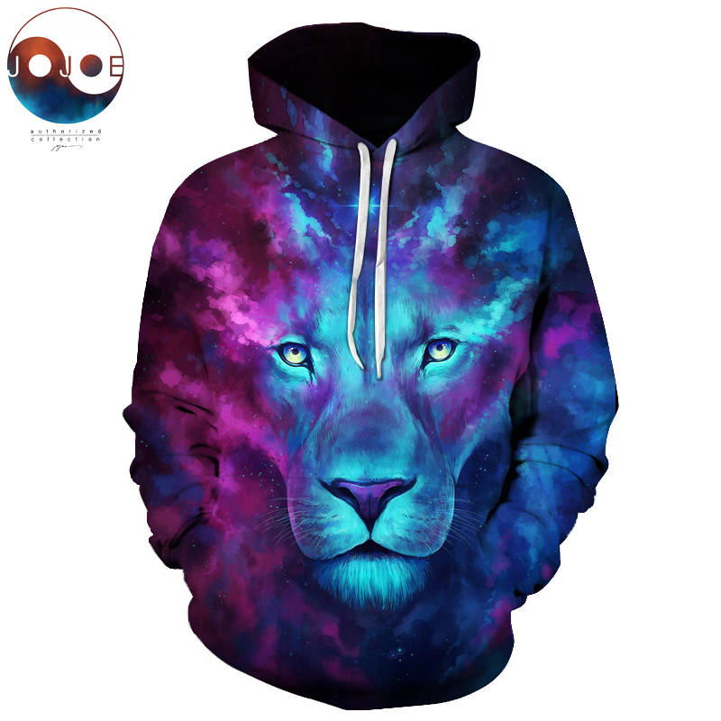 Firstborn by JoJoesArt Galaxy Lion Men Women Hoodies Hot Quality 3d Sweatshirts Funny Animal Pritned Pullover Hooded Streetwear