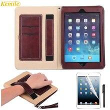 Kemile Case For ipad Mini 2 Leather Case For Apple ipad Mni 1/2/3/4 Auto Wake Up Sleep Stand Flip Bags Cover For iPad mini 4 7.9