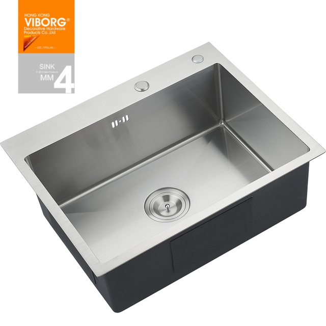 Stainless Single Bowl Kitchen Sink 760 x 505 x 220 mm viborg deluxe handmade extra thick 304 stainless 760 x 505 x 220 mm viborg deluxe handmade extra thick 304 stainless workwithnaturefo