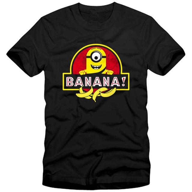 Banana Park World Herren Menu0027s T Shirt Minion Jurassic Dinosaurier  Unverbesserlich Me Funny Graphic Printed Tops