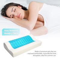 Slow Rebound Memory Pillow Summer Cool Gel Pillow Cervical Vertebra Care Backrest For Home