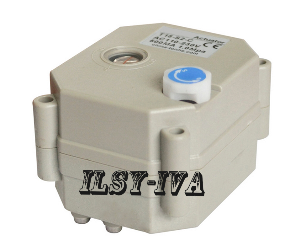 DC12V,DC24V electric valve actuator for valve,with 2Nm, indicator type and signal feedback